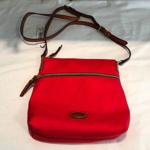 NWT Dooney & Bourke red crossbody bag